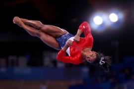 Simone Biles undur diri dari final senam artistik lantai Olimpiade