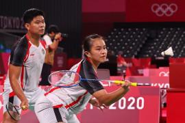Pasangan Praveen/Melati terhenti di perempat final Tokyo 2020