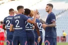 PSG vs Sevilla imbang 2-2 dalam persahabatan pramusim