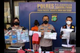 Polisi tangkap suami-istri palsukan sertifikat vaksinasi di Tanjung Priok