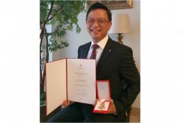 Konduktor Avip Priatna dapat penghargaan tertinggi dari Pemerintah Austria