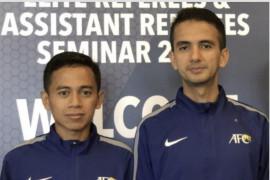 Dua wasit Indonesia pimpin laga Piala AFC