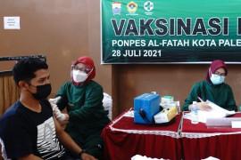 LDII Palembang gelar vaksinasi massal bantu pemerintah tangani COVID-19