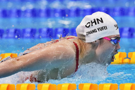 """Olimpiade Tokyo -  \""""Ratu kupu-kupu\"""" China catatkan rekor renang 200m"""