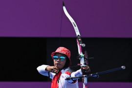 Diananda dan Bagas terhenti pada babak pertama panahan Olimpiade Tokyo
