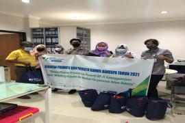 BPJAMSOSTEK Jayapura serahkan bantuan promotif preventif tenaga kerja