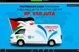LAZ MKU, BMT dan Dompet Dhuafa hadirkan ambulans bagi rakyat Palestina