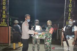 Satgas TNI Yonif 131 tangkap enam orang terduga TPNPB/OPM di perbatasan RI-PNG