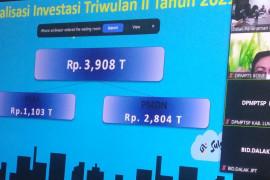Realisasi investasi triwulan II di Sulsel capai Rp3,9 triliun