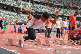 Olimpiade Tokyo - Persaingan ketat, Muhammad Zohri dalam kepungan sprinter di bawah 10 detik