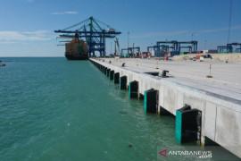 Progres pembangunan Makassar New Port capai 77,54 persen