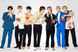 BTS berhasil dongkrak penjualan McD di seluruh dunia