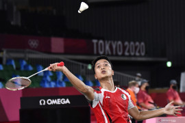 Anthony Ginting Melaju ke Perempatfinal Olimpiade Tokyo Page 2 Small