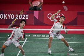 Olimpiade Tokyo - Kevin/Marcus akui Malaysia  bermain lebih baik