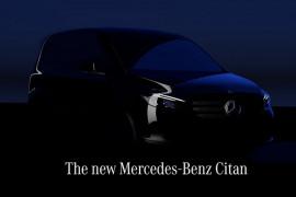 Mercedes-Benz luncurkan van kecil listrik bulan depan