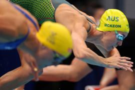 McKeon cetak sejarah olimpiade 4x100m estafer gaya ganti
