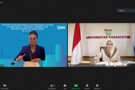 BRI dan Unhas Makassar kerja sama layanan pembayaran elektronik