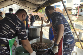 Gubernur Lampung apresiasi Brigif 4 dirikan dapur umum bantu pasien COVID-19