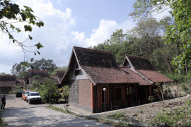 Rumah peneliti Wanagama UGM menjadi tempat isolasi pasien COVID-19