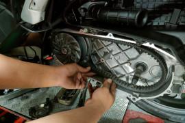 Cara aman merawat v-belt motor  matik