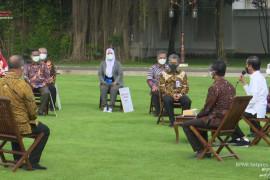 Presiden Jokowi harap pelaku usaha tahan banting di tengah pandemi