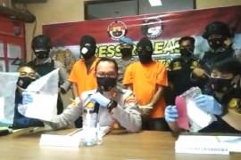 Polres Bintan  tangkap pemilik 2 kilogram sabu dan pil ekstasi di NTB
