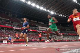 Marcell Jacobs rebut emas  nomor lari 100m putra Olimpiade Tokyo