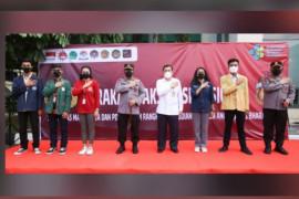 30 tahun mengabdi, alumni Akpol 91 didukung mahasiswa gencarkan vaksinasi