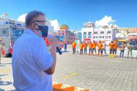 Pemprov Sulut sebar petugas disinfektan ke 15 kabupaten dan kota
