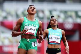 Sprinter Okaghare terdepak di Olimpiade setelah gagal tes doping