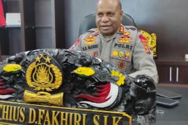 Kapolda Papua Irjen Fakhiri benarkan adanya pembakaran Polsek Nimboran