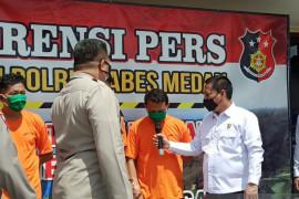 Polisi ungkap motif penyiraman air keras kepada wartawan di Medan