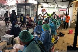 Kota Yogyakarta salurkan bantuan beras sekaligus beri vaksinasi COVID-19