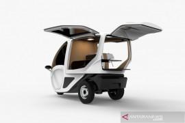 Kendaraan roda 3 listrik PowerAce buat UMKM