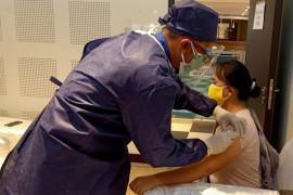 Gelar vaksinasi kedua, DSLNG terus terapkan protokol kesehatan