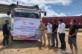 BUMD NTB kirimkan 220 ton jagung ke Miwon Indonesia