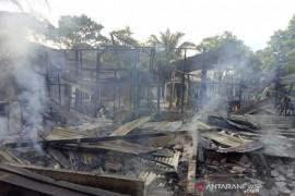 Penjual pertalite eceran di Inhu tewas terbakar, begini kronologinya