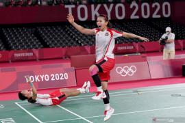 Greysia mempunya kesan tersendiri dengan Erick Thohir di Olimpiade