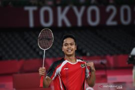 Anthony Ginting \'grateful\' for Olympic win