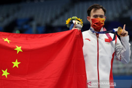China terus menjauh pimpin klasemen Olimpiade