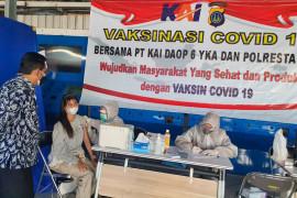 Stasiun Daop 6 melayani vaksinasi COVID-19 dosis dua mulai 3 Agustus