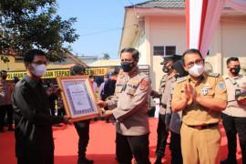 Kapolda Lampung resmikan gedung pelayanan terpadu Polres Metro