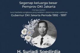 Anies doakan mantan Gubernur DKI Jakarta Surjadi Soedirdja