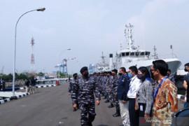 Laksamana TNI Yudo Margono lepas ekspedisi penelitian Jala Citra I Aurora ke Halmahera