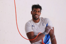 Bassa Mawem alami cedera terpaksa mundur dari final panjat tebing Olimpiade