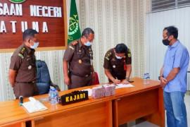 Kejari Natuna terima pembayaran denda perkara korupsi mantan bupati
