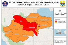 Jambi zona merah COVID-19