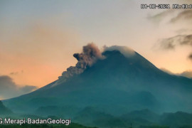 Awan panas guguran Merapi meluncur sejauh 1.400 meter