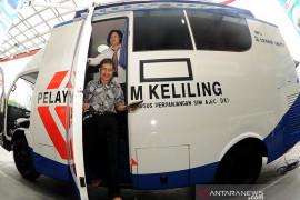 Kamis, SIM Keliling tersebar di lima lokasi Jakarta