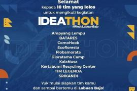 BPOLBF jaring 10 finalis Ideathon untuk pengembangan wisata Labuan Bajo